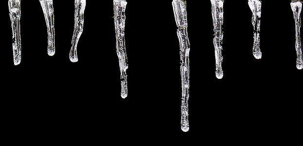 icicle, ice, cold, winter, frozen, icy