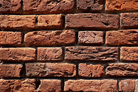 photo of brown brick wall