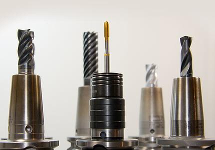 five drill bits