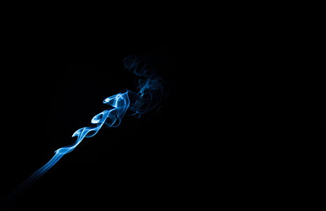 blue flame graphic wallpaper