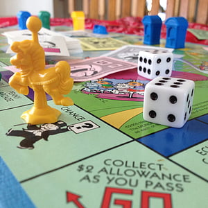 5 Monopoly board game