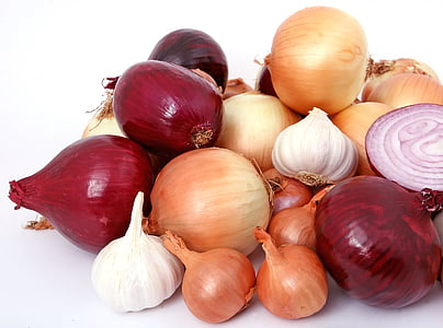 bulbs of onions
