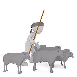 shepherd illustration