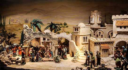 historical diorama