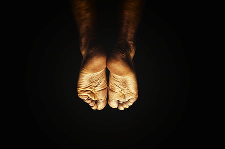 photo of persons feet
