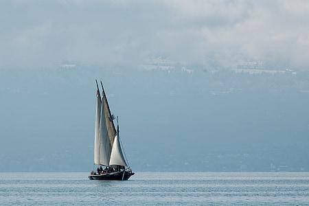 photo of sail boat