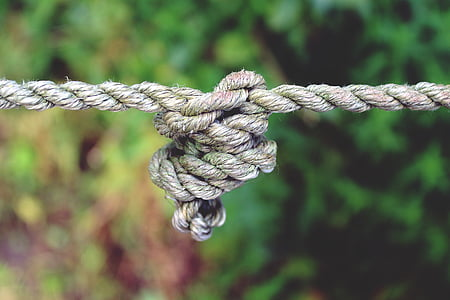 photo of gray rope