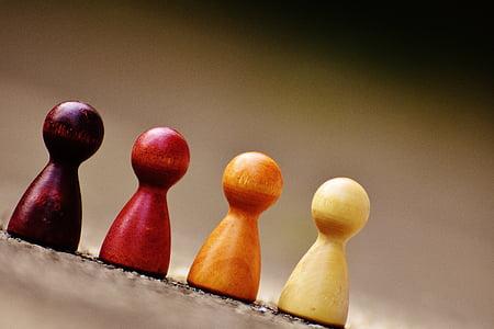 four chesspieces