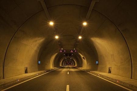 empty vehicle underpass