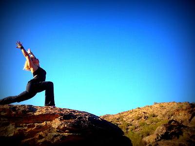 woman near a cliff