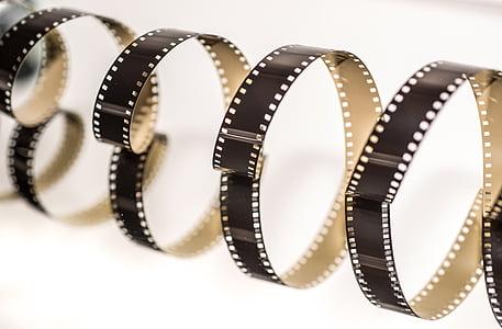 four brown camera films