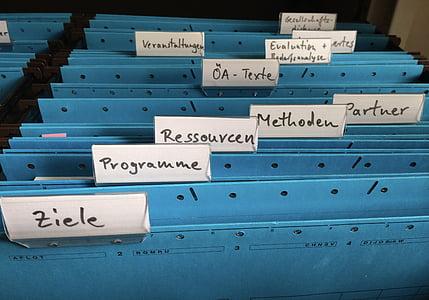 blue metal folder cases