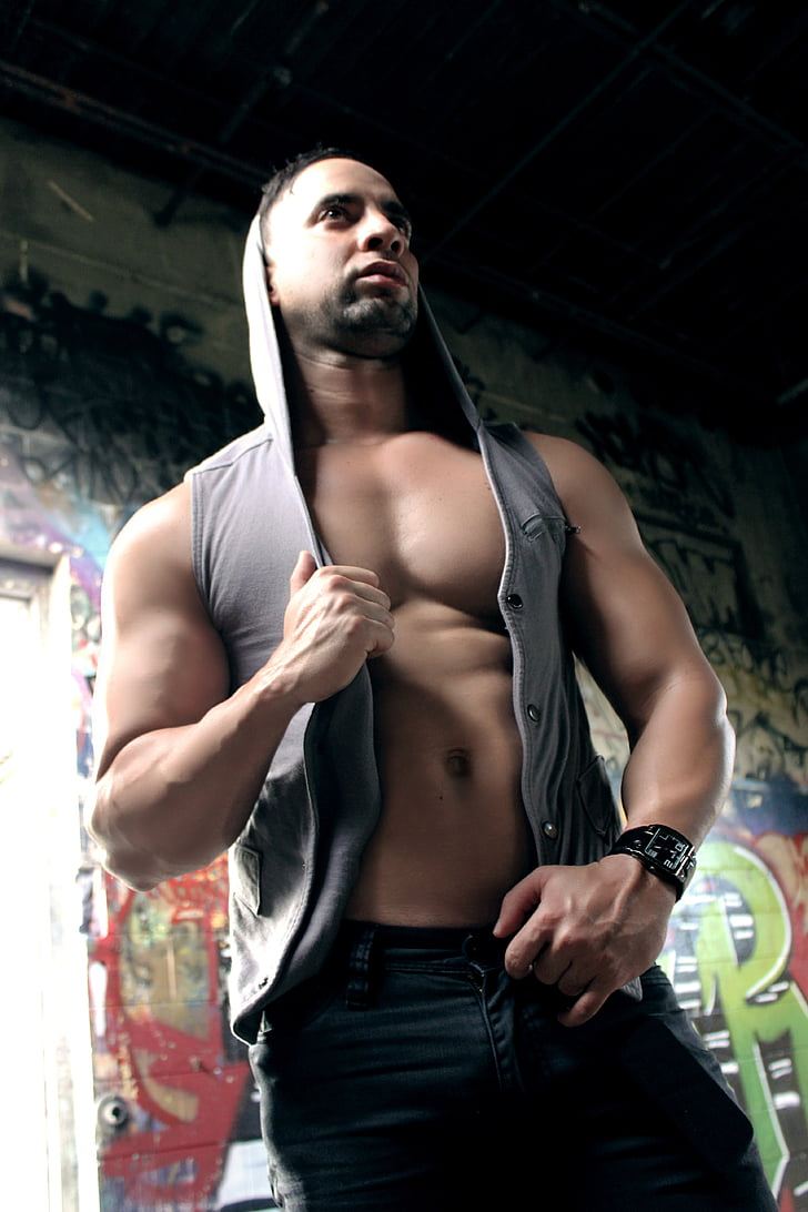 man, body, male, fitness, muscular, young