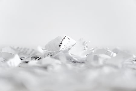 closeup photo of white printing paper