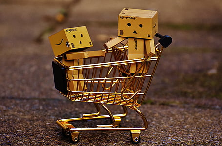 Amazon toy box in push cart toys