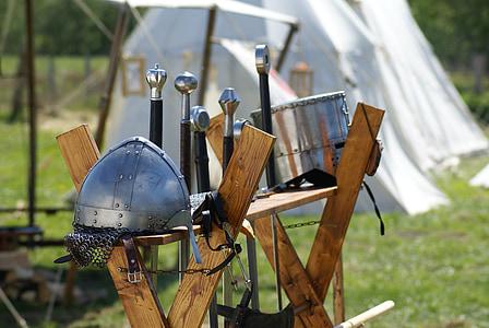 gray viking gear set