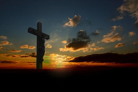 Jesus in Cross