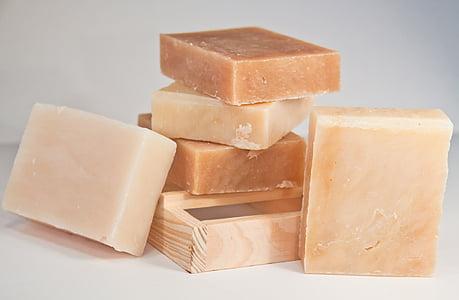 brown soap lot
