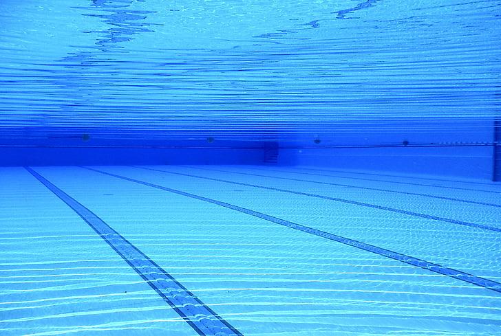 swimming pool ground