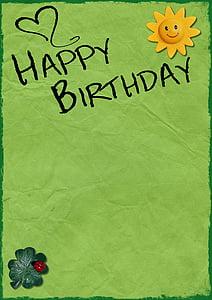 photo of Happy Birthday text