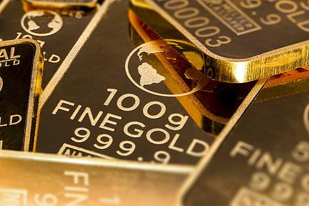 100 G fine gold bar