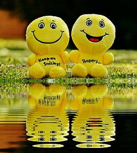 two yellow plush toys