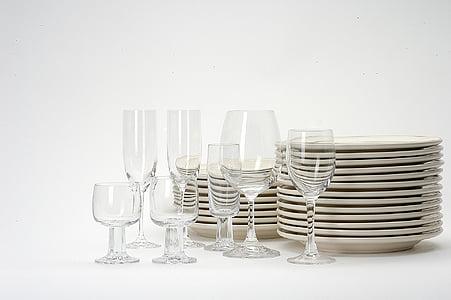 assorted liquor glasses