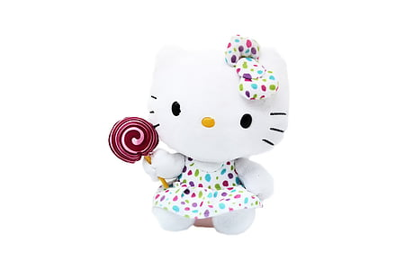 hello kitty, stuffed animal, sweet, cute, soft toy, toys