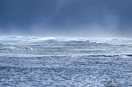 photography of sea waves during daytime