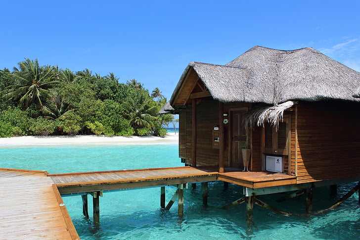 Cottage In The Middle Of Beach