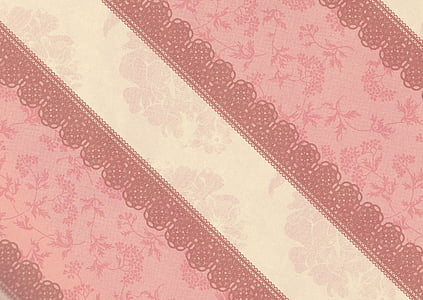 beige and pink textile