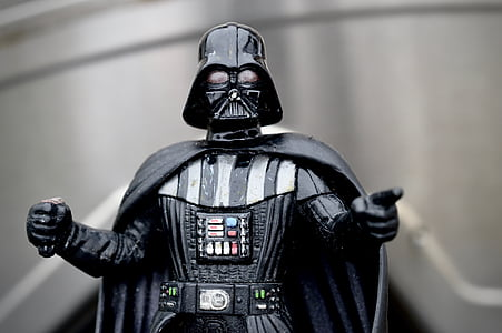 photography of selective focus Star Wars Darth Vader