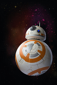 BB-8 from Star Wars movie