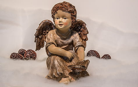 angel, christmas angel, wing, book, open book, read