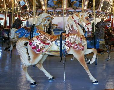 multicolored carousel
