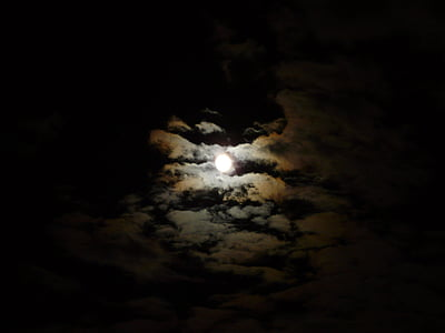 cloud with moon