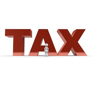 red tax text digital wallpaper