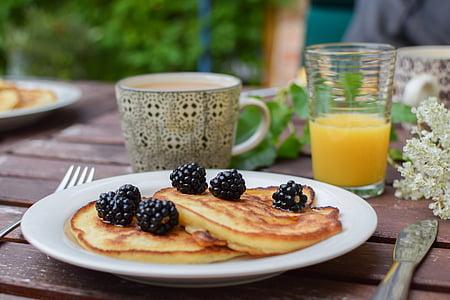two pancakes