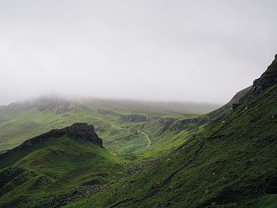 ireland, mountains, landscape, scenic, green, scenery