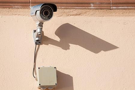 gray bullet surveillance camera