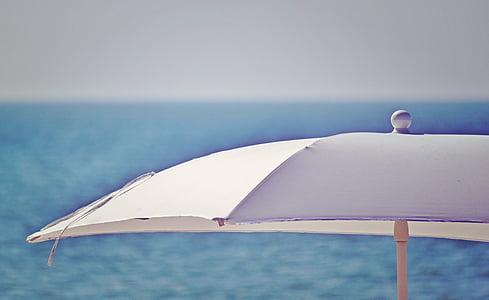 white canopy umbrella