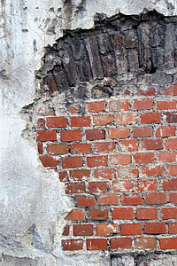 photo of cracked wall