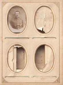 4-panel collage photo frame