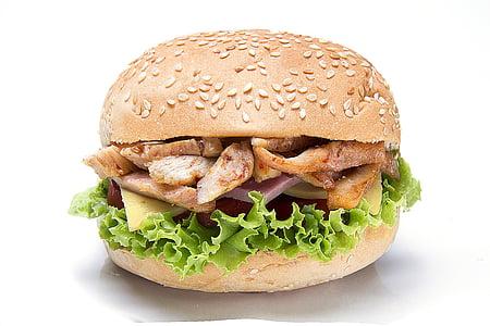 pork cutlet burger