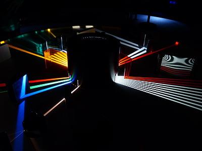 optics, prism, light beam, light guide, attempt, physics