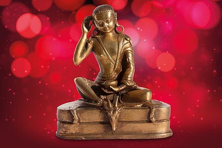 mila repa, buddha, bodhisattva, esoteric, right hand, listen