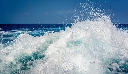 seawaves during daytime