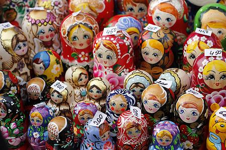 Russian nesting dolls lot