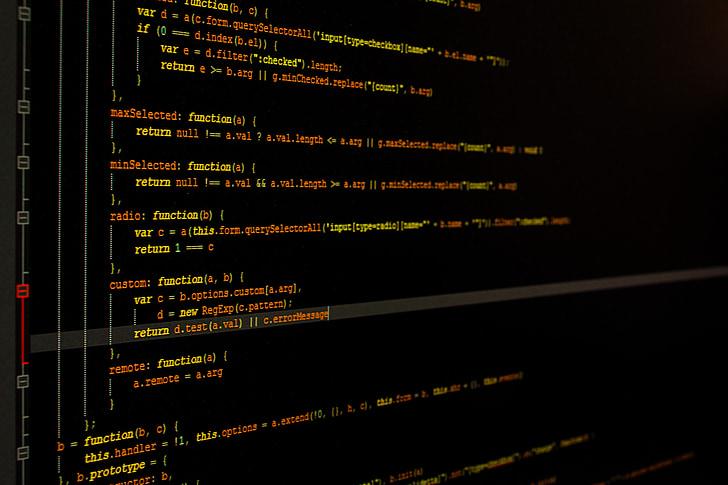 computer code illustration