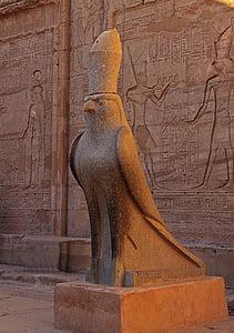 brown eagle statue